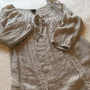 New Directions Peasant Tunic Top